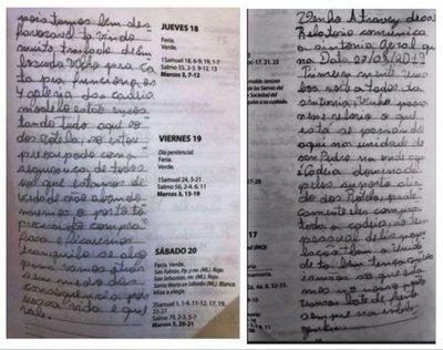 'Métástasis' del PCC en cárceles de Paraguay: el cuaderno de los nuevos bautizados y objetivos