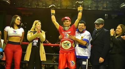 """""""La Pantera Moray"""" es campeón Sudamericano de Boxeo"""