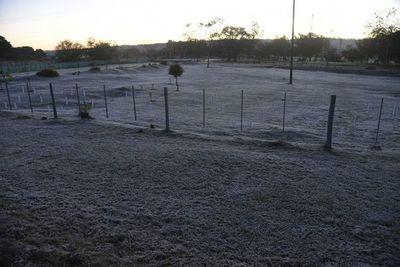 Sábado amanece con frío extremo