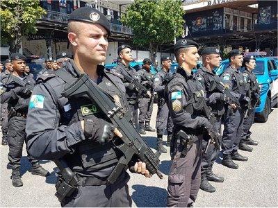 Unos mil policías para la final de la Copa América