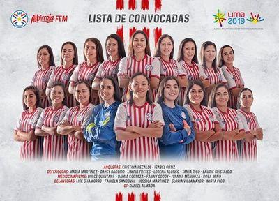 Elegidas para los Panamericanos