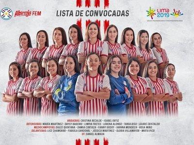 La Albirroja convoca a sus jugadoras para los Panamericanos de Lima