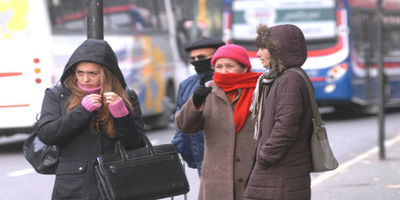 Frío persistirá en la jornada de este domingo