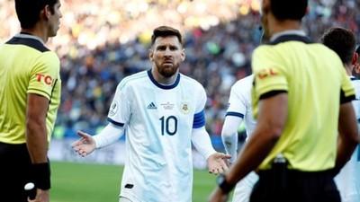 """La """"rajada"""" que puede costar a Messi una dura sanción"""