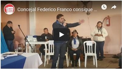 Mayoría de dirigentes aceptaron precandidatura de Fredy Franco