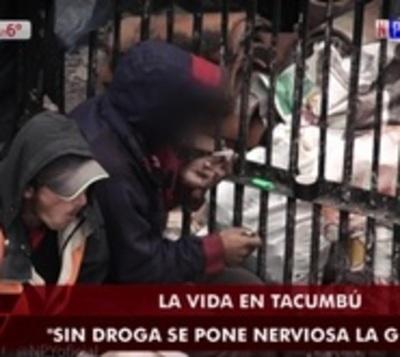 El crack es el precio de la paz en Tacumbú