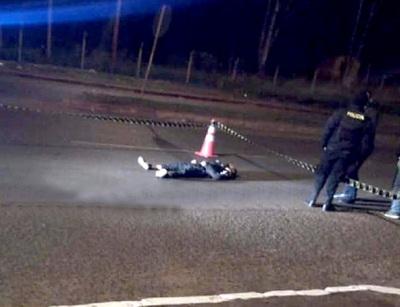 Joven muere en violento accidente entre camioneta y moto sobre la supercarretera