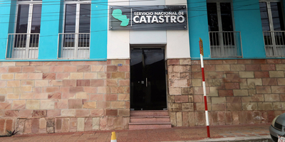 Catastro firmó un convenio con el municipio de Santa Rosa del Monday