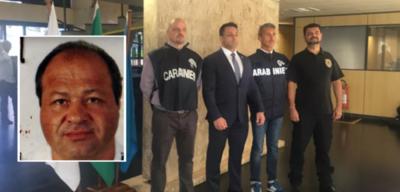 Policía brasileña detiene a dos supuestos mafiosos italianos