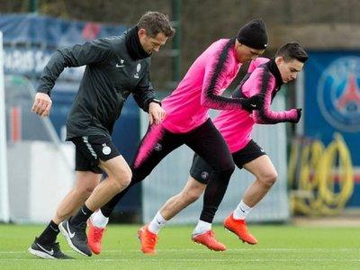 El PSG reanuda los entrenamientos sin Neymar