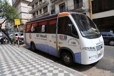 PAC Móvil de Tributación presta servicios esta semana en Canindeyú
