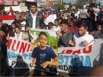 Marchan por la paz en Liberación y piden justicia por joven fallecido