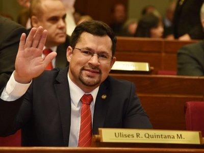 Ulises Quintana puede reasumir como diputado, dice su abogado