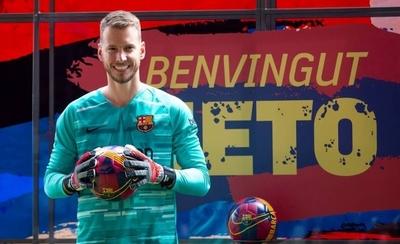 HOY / Barcelona presenta su nuevo arquero
