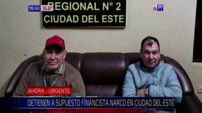 Capturan a presunto financista narco