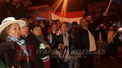 MANIFESTACIÓN TRAS ATAQUE CANINO EN B° SAN ISIDRO ENCARNACIÓN