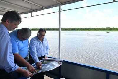 Licitación para diseño de puente Carmelo Peralta – Murtinho será lanzada a fines de julio, anuncian
