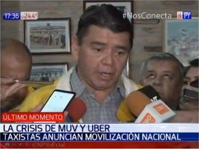 Taxistas se movilizarán en Asunción