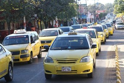 Taxistas realizarán paro parcial este miércoles