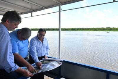 Lanzarán licitación para diseño de puente Carmelo Peralta – Murtinho
