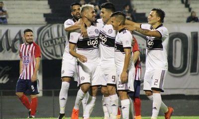 Olimpia golea y avanza en la Copa Paraguay