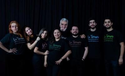 "Elenco teatral Lampium presentó oficialmente obra ""La Ternura"""