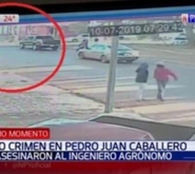Así atentaron contra el ingeniero en pleno microcentro de Pedro Juan