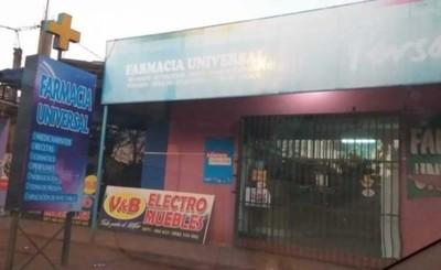 Vuelven a asaltar farmacia
