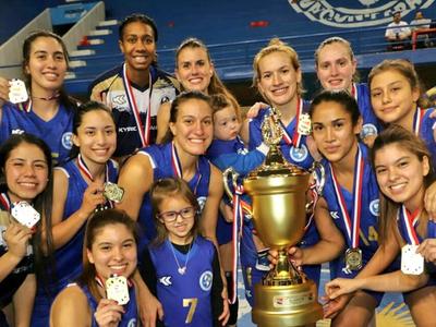 Sol de América es tetracampeón en femenino