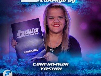 Yasuri quiere bailar con un musculoso