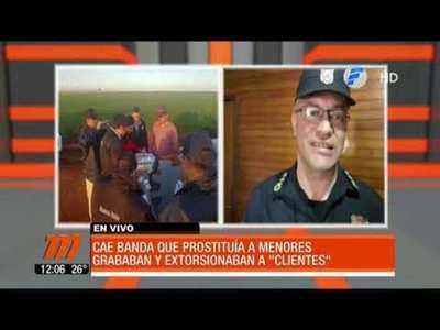 Cae banda que prostituía a menores en Caaguazú