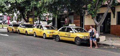 Solicitan informe del funcionamiento de las paradas de taxis