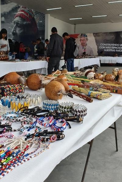 Trabajo creativo de pueblos indígenas presente en la Expo 2019