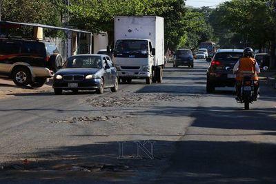 Muncipalidad de Asunción afirma que cerró 16.981 baches este año