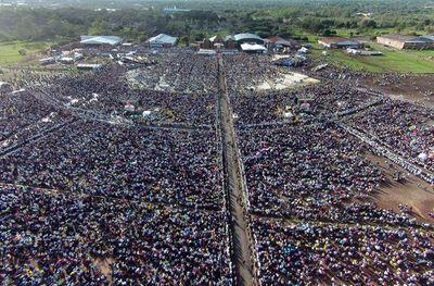 Rememoraron con emoción visita del papa Francisco al Paraguay