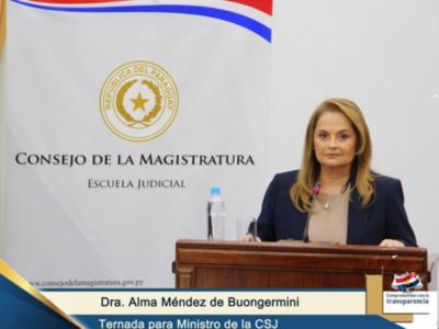 'La etapa final es netamente política', afirma Alma Méndez