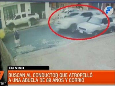 Se presentó conductor que atropelló a abuelita y huyó