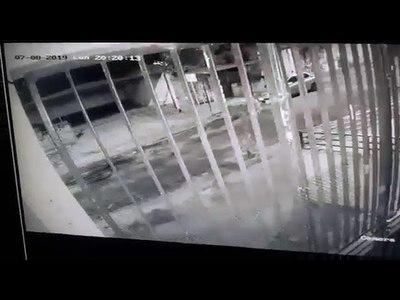 SALÍAN DE SU PRACTICA DE KARATE Y MOLIERON A GOLPES A MOTOCHORROS