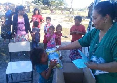 Salud llega a comunidades chaqueñas que siguen aisladas por inundaciones