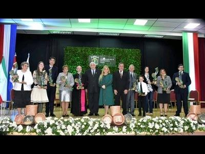 EMOTIVA ENTREGA DE LOS PREMIOS YVY MARANE'Y 2019