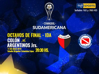 Colón y Argentinos Juniors se enfrentan en Santa Fe