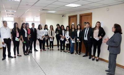 Estudiantes vieron procedimientos en Cámara Gesell