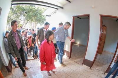 Familias indígenas Mbya Guaraní de Paso Yobái acceden a nuevas condiciones de vida