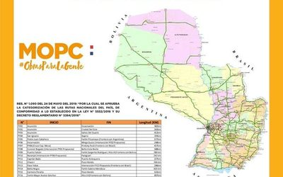 Presentan proyecto de ampliación del número de rutas nacionales