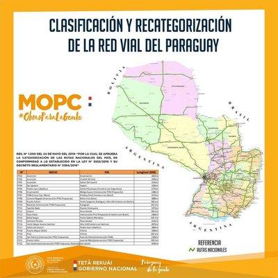 MOPC presenta clasificación y recategorización de rutas nacionales