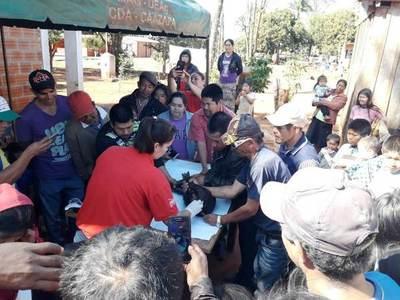 Comunidad indígena celebró día de campo en Caazapá con producción suina