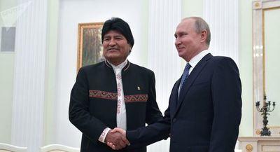 Desarrollo nuclear y economía: temas clave del encuentro de Putin y Evo Morales