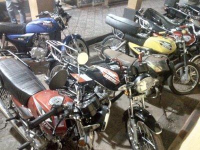 En pocas horas recuperan motocicleta mediante GPS