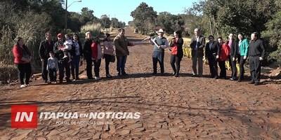 INAUGURAN EMPEDRADOS EN VARIOS BARRIOS DE LA PAZ