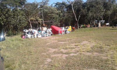 Desalojan plaza en Franco